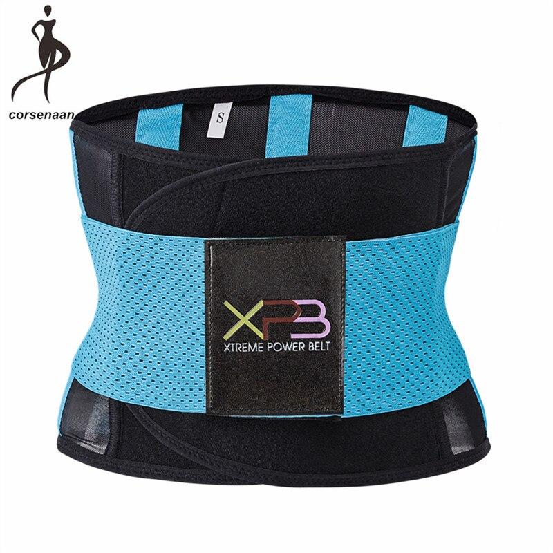 0e0b46f2cd Women Waist Cincher Breathable Waist Tranier Xtreme Thermo Power Hot Body  Shaper Firm Girdle Belt Underbust