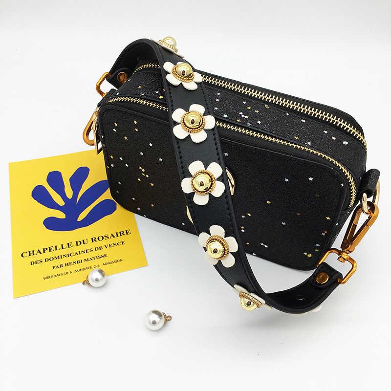5e0c0d1f6d2e ... IKE MARTI Shoulder Belt Bag Strap Leather Handle Bag Parts Accessories  Replacement Women Top Wide Belt ...