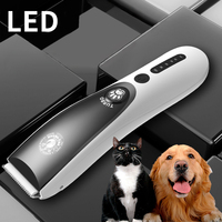 100 240V Professional Electric Pet Cat Dog Hair Clipper Grooming clipper USB charge animal hair Trimmer Shaver Haircut Machine