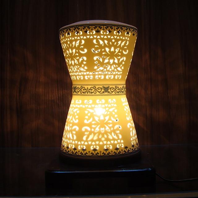 Blauwe Tafellamp. Cool Blauw Wit Vintage Chinese Porselein ...