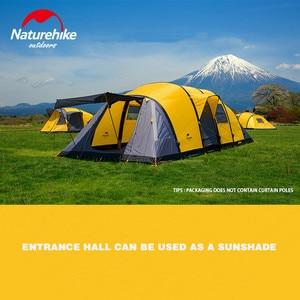 Image 3 - Naturehike Wormgat Serie Camping Tent 3 8 Personen Familie Tent Ademend Waterdicht Opblaasbare Tent Outdoor Reizen Tent