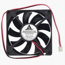 1Pieces Gdstime 8cm 80mm x 15mm 8015 PC DC 12V 2Pin Ball Bearing Heatsink Cooler Cooling  Fan цены