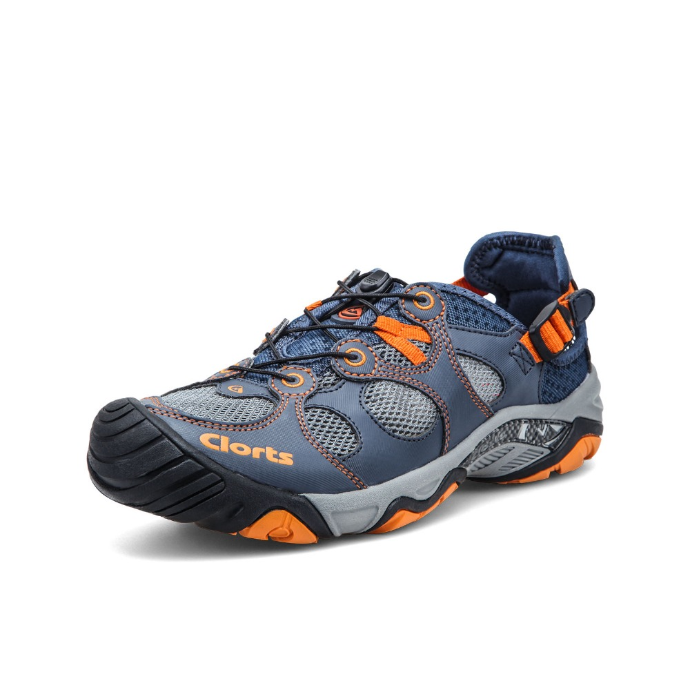 ad5f00b47bf0 Clorts Men Water Shoes Upstream Shoes Quick Dry Aqua Outdoor Shoes Durable  Summer Shoes 3H021A B
