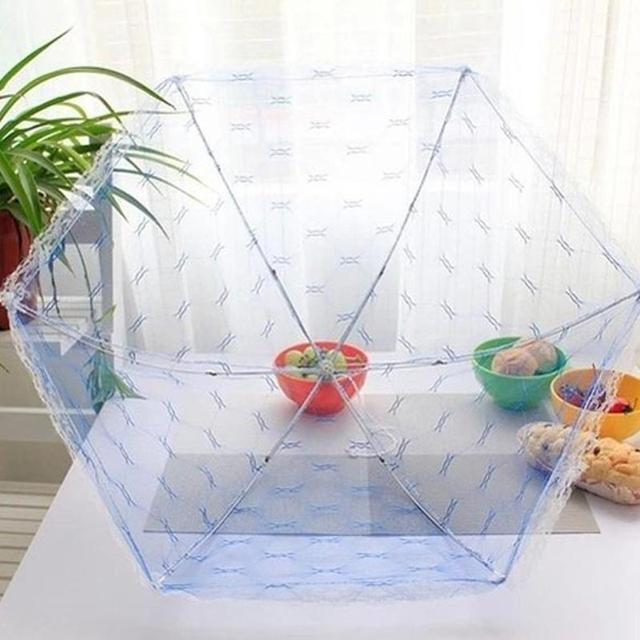 Hexagon Gauze Food Cover Umbrella Style Picnic Anti Fly Mosquito Net Tent Meal Cover Table Mesh  sc 1 st  AliExpress.com & Hexagon Gauze Food Cover Umbrella Style Picnic Anti Fly Mosquito ...