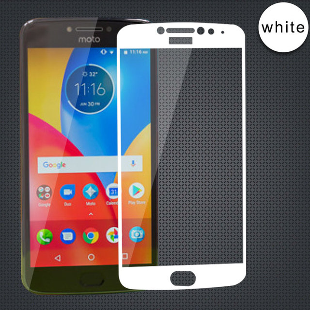 hot sale online 98ebe 95b46 US $1.39 30% OFF Full Cover Tempered Glass For Motorola Moto E4 Plus Screen  Protector For Motorola E4 Plus Protective Film For Moto E4 Plus-in Phone ...