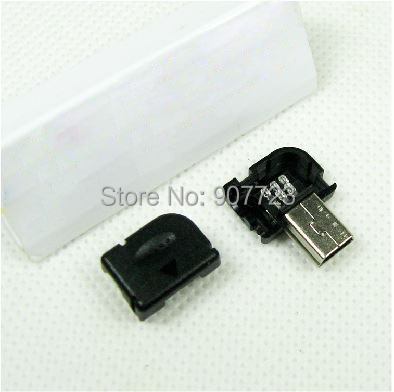 Diy right angel 90 degree long mini usb type b male 5pin three diy right angel 90 degree long mini usb type b male 5pin three piece assembly connector plug socket sciox Image collections