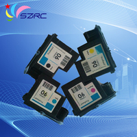 Free Shipping 100 New Original Compatible Print Head For HP90 C5054A C5055A C5056A C5057A Printer Head