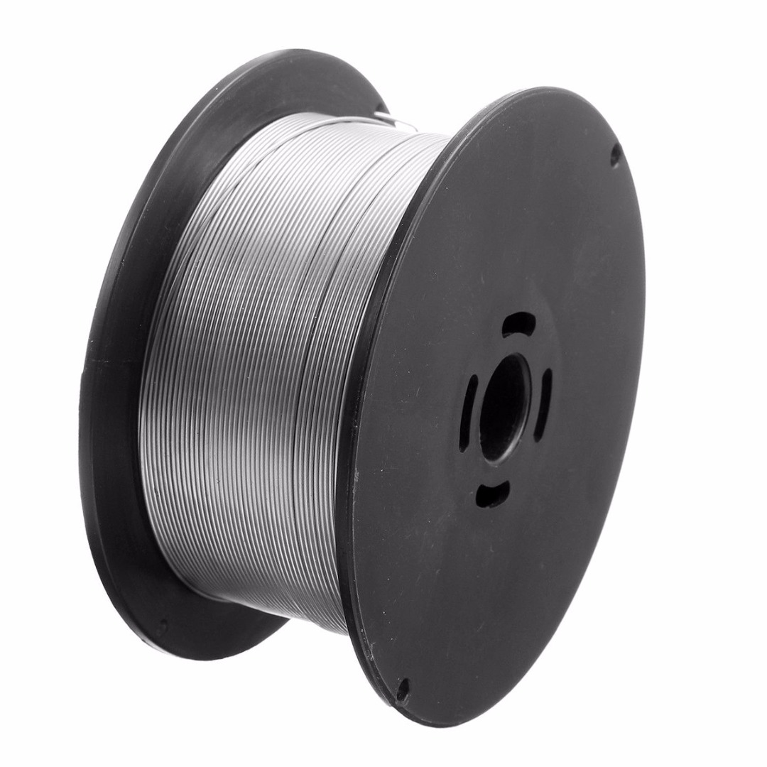 1 Roll Stainless Steel Welding Wire 0.8mm 500g/1kg Solid-Cored MIG Welder Tools For Food/General Chemical Equipment 100x45mm