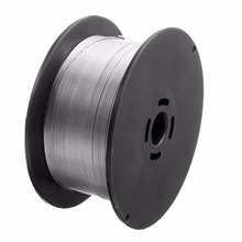 1 Roll Stainless Steel Welding Wire 0.8mm 500g/1kg Solid Cored MIG Welder Tools for Food/General Chemical Equipment 100x45mm