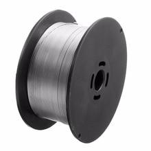 Rouleau de fil à souder en acier inoxydable, 0.8mm 500g/1kg, à noyau solide outils à souder MIG pour aliments/équipements chimiques généraux 100x45mm