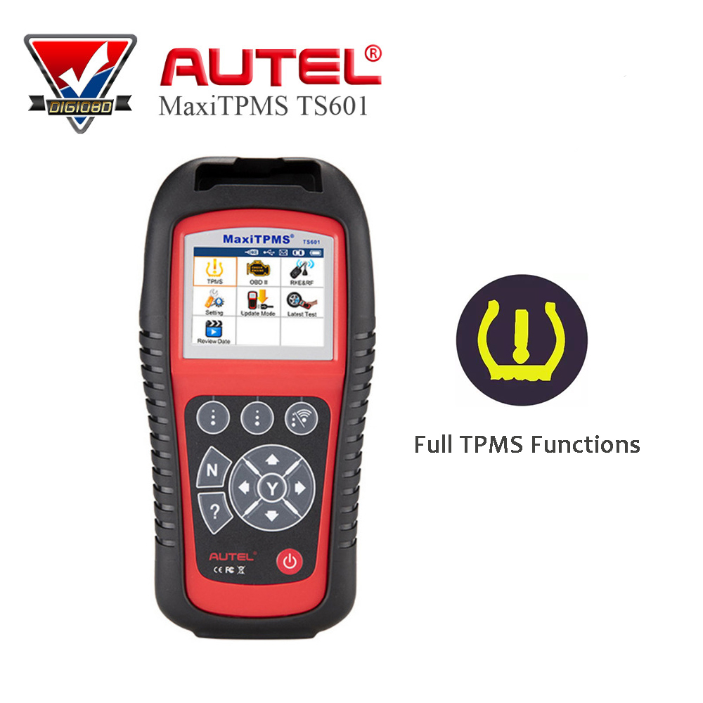 где купить AUTEL MaxiTPMS TS601 TPMS Car Diagnostic & Service Tool Activate Tire Sensor TPMS Reprogramming Automotive Code Reader Scanner по лучшей цене
