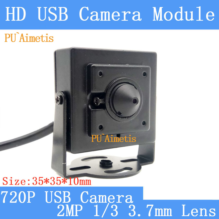 PU`Aimetis Surveillance camera 720p Full Hd MJPEG 30fps High Speed CMOS  Mini CCTV Android Linux UVC Webcam USB Camera Module fandyfire 600lm 1 led 5 mode cool white light flashlight w strap black 1 x 18650
