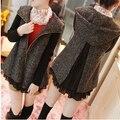 Горячая распродажа осень и зима беременных женщин сгущать пальто с трикотажной рукава удобные для беременных пальто