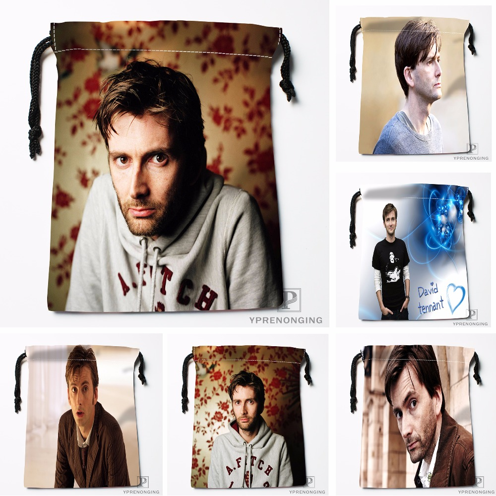 Custom Doctor Who Drawstring Bags Travel Storage Mini Pouch Swim Hiking Toy Bag Size 18x22cm#0412-03-10