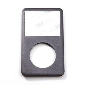 Image 4 - Placa frontal gris y gris, carcasa trasera plateada, botón gris para iPod 6th 7th gen Classic 80gb 120gb 160gb