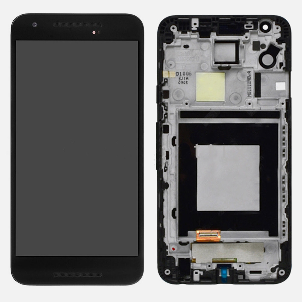 ФОТО For Nexus 5x Lcd Screen H790 Lcd Touch Digitizer Display With Touch Screen Digitizer Assembly With Frame Replacement Tools