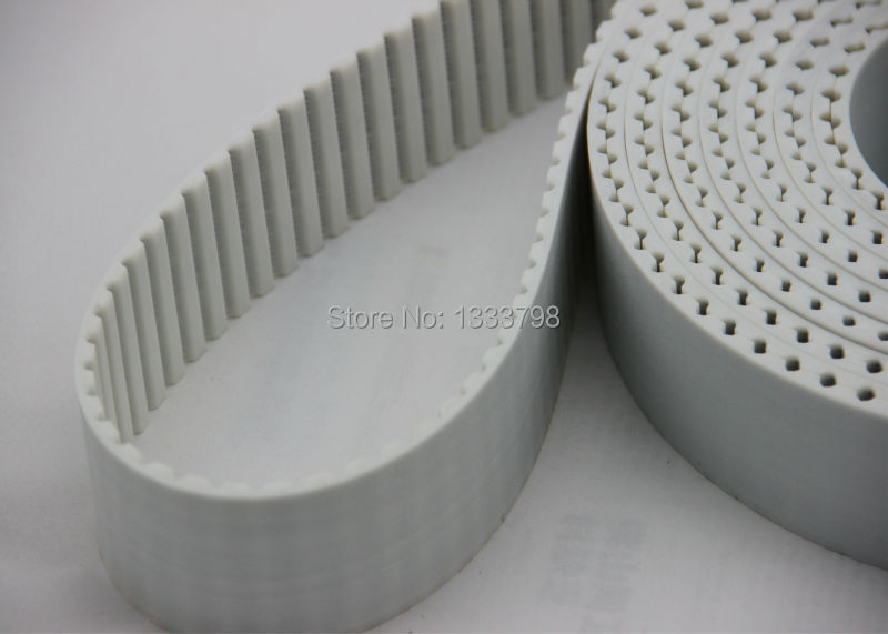 China factory wholesale cheap price AT10 strong steel code pu timing belt/strap china pu conveyor timing belt with cleats by customer requirement