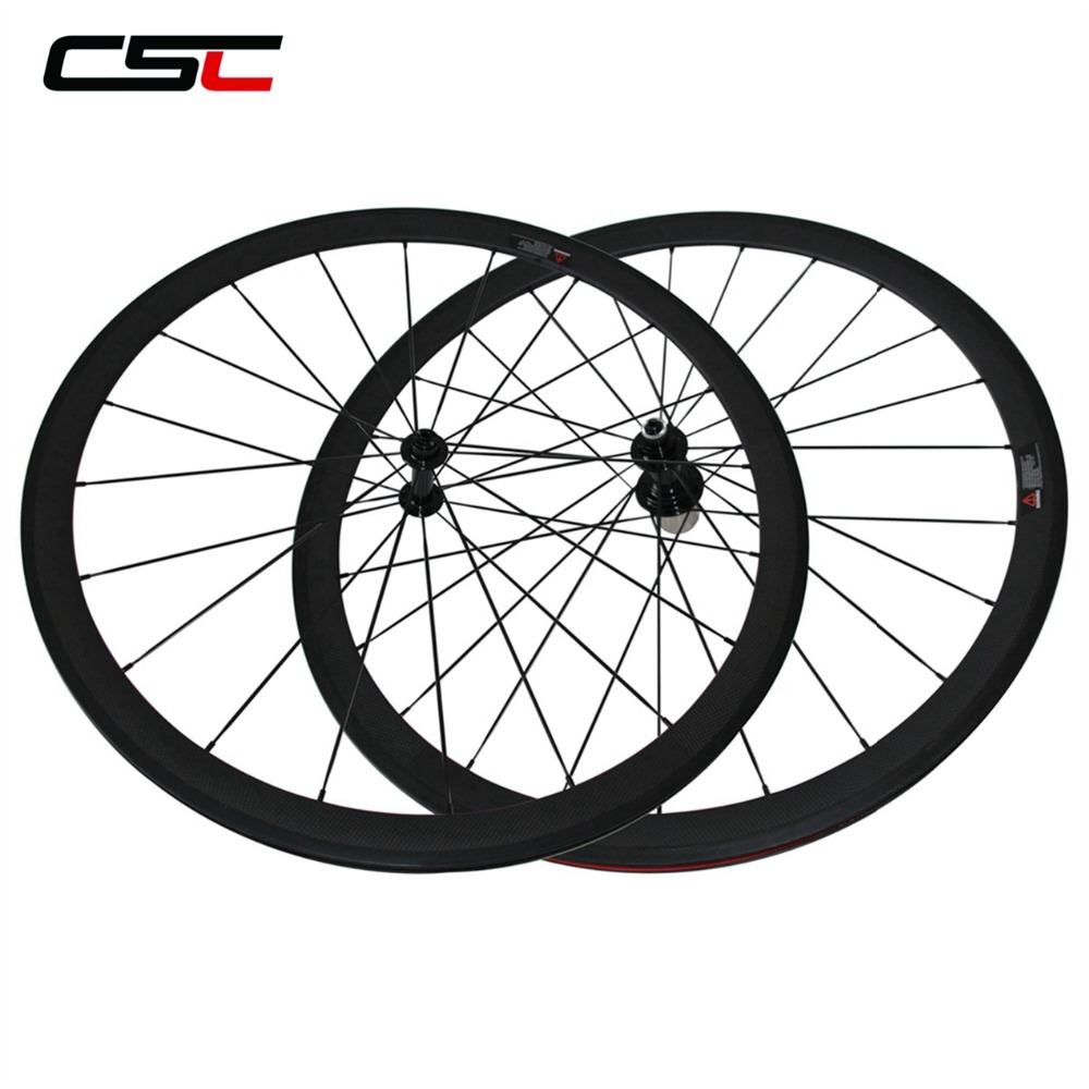 CSC Carbon Road Wheels 38mm 50mm 60mm 88mm Tubular Clincher Carbon Aero Wheel U Shape R13