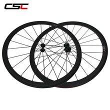 CSC Carbon Road Räder 38mm 50mm 60mm 88mm Röhren Carbon Aero Rad U Form R13 hub CN oder SAPIM CX RAY CX RAY Speichen