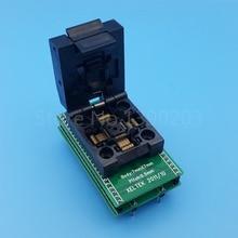 TQFP48 QFP48 To DIP48 SA248 ICโปรแกรมเมอร์อะแดปเตอร์ซ็อกเก็ตทดสอบ0.5มม.Pitch