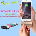 El más nuevo diseño 2600 mah banco de energía de emergencia recargable cargador de batería externo powerbank para iphone 7 7 plus 6 6 s ipad samung