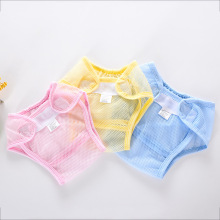 Baby Nappy Summer Super Breathable Mesh Diapers Newborn Washable Recycled Training Pants