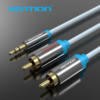Vention RCA Jack Cable 3.5mm  to 2 RCA Audio Cable 1m 2m 3m 5m 2RCA Cable For Edifer Home Theater DVD VCD to 3.5mm Cable P550A