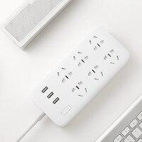 Original Xiaomi Smart Power Strip 2 1A Fast Charging 3 USB Extension Socket Plug 6 Standard