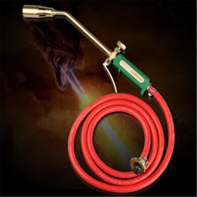 Пламя Gun 50 один переключатель Сварки Бутан Горелка Зажигания Газовая Зажигалка Инструмент/Spray gun сжиженный газовый пистолет