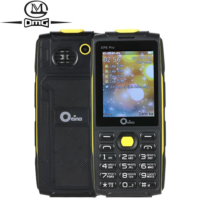 Oeina XP6 Pro Russian keyboard mobile phone 2 4 4 Quad Sim Quad Band GSM Wireless
