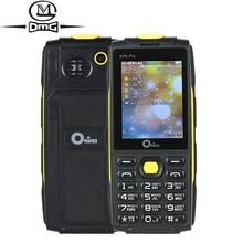 """Oeina XP6 Pro clavier Russe mobile téléphone 2.4 """"4 Quad Sim Quadri-Bande GSM Sans Fil FM MP3 FM Bluetooth lampe de poche téléphones cellulaires"""