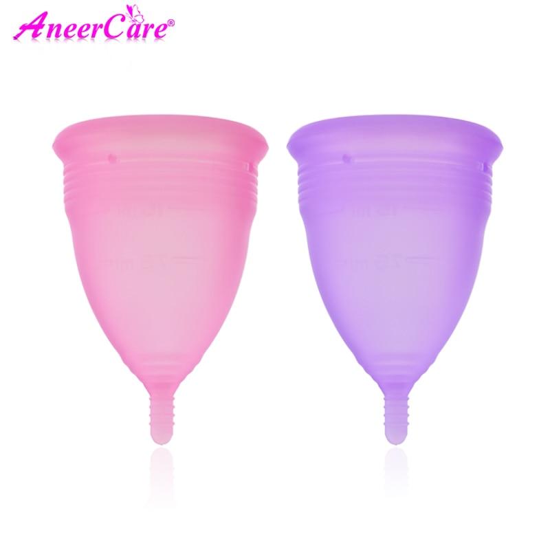 Feminine Hygiene Products Menstrual Cup Medical Grade Silicone Copa Menstrual Lady Menstrual Copa Mestrual Reusable Cup Silicone