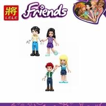Legoing друзья принцесса девушка фильм Фигурки Золушка, Русалка Belle строительные блоки игрушки для детей собрать друзья Legoings