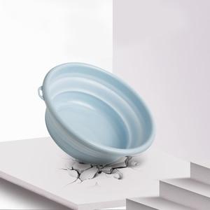 Image 4 - Składana umywalka przenośne składane wiadro składana umywalka składana umywalka podróżna/domowa mała/średnia/duża wanienka z tworzywa sztucznego