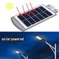 20 W 40 piezas LED Sensor Solar de la pared de la lámpara de la luz de calle de aleación de aluminio a prueba de IP67 para iluminación de la trayectoria al aire libre