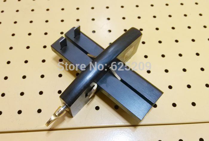 ФОТО Ebony Japanese Easy-Slide Marking Gauge KJ1123-2 Fence length:150 mm