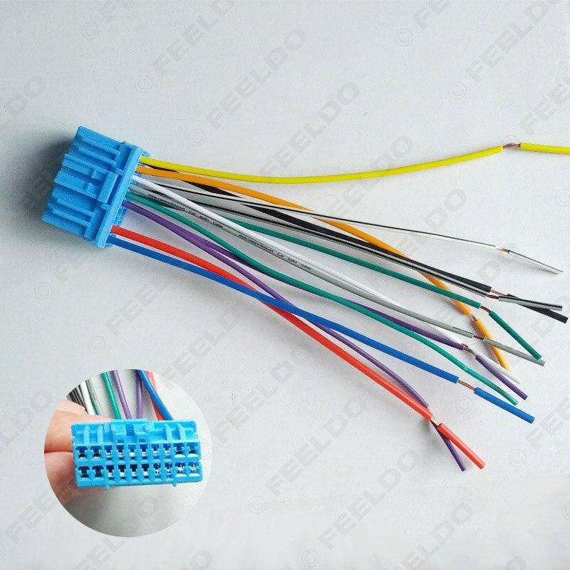 popular car audio wiring harness buy cheap car audio wiring car audio stereo wiring harness for honda acura accord civic crv pluging