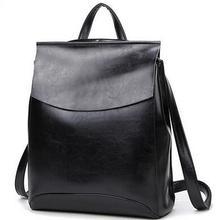 Вставка из натуральной кожи модные женские туфли рюкзак студентка школьная сумка Дважды Сумка Для женщин Повседневное сзади пакеты путешествий T043