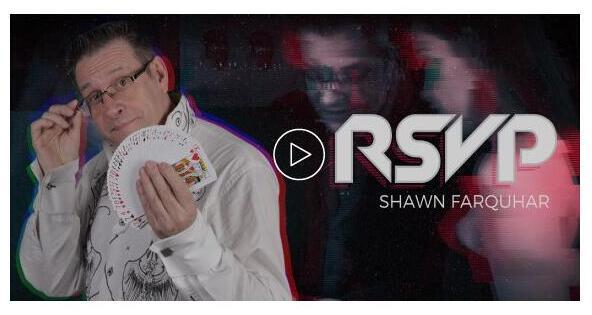 RSVP-Richiusa Verificato Pack Shawn Farquhar-trucchi Magici