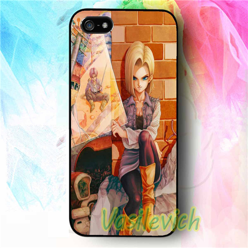 more photos 3146e 7f152 US $6.99 |For Android 18 Dragon Ball Z phone case cover for samsung galaxy  s3 s4 s5 s6 s7 s6 edge s7 edge note 3 note 4 note 5 #kb514 on ...