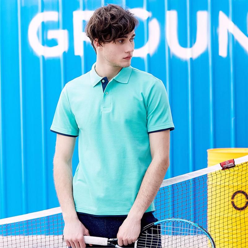 Mens Polo Shirt Brands Clothing 2019 Short Sleeve Summer Shirt Man Black Cotton Poloshirt Men Plus Size Polo Shirts 2