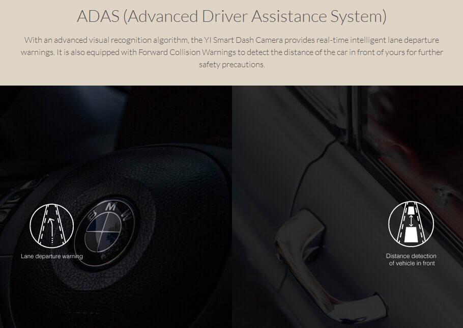 INTERNATIONAL EDITION ORIGINAL XIAOYI YI SMART CAR DVR DASH CAM CAR DETECTOR DASH CAMERA 202920 26