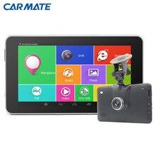 New 7 inch HD 1080P Car DVR Camera Recorder Car GPS Navigation Android Bluetooth MT8127 Quad-core vehicle gps navigator Car dvrs