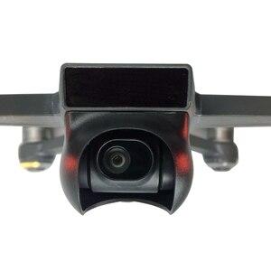 Image 4 - מצלמה עדשת הוד כובע שמש צל עדשת Sunhood Gimbal מגן מייצב משמר עבור DJI ניצוץ Drone חילוף חלקי
