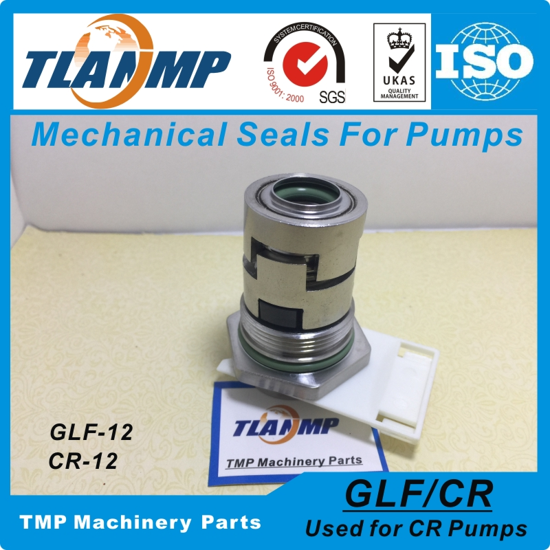 GLF-12 , JMK-12 Mechanical Seals for CR1/CR3/CR5 Vertical Multi-stage Pumps Shaft 12mm Cartridge Seals(HQQV/HQQE/HUUV/CRI/CRN12)
