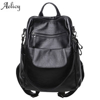 Aelicy Backpacks Women Backpack Large Lapacity Softback Mochila Teenage Backpacks for Girls Backpack Schoolbag Ladies Rucksack