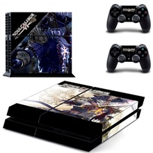 Game Soulcalibur VI Soul Calibur PS4 Skin Sticker Decal Vinyl for Sony Playstation 4 Console and 2 Controllers PS4 Skin Sticker видеоигра для ps4 murdered soul suspect