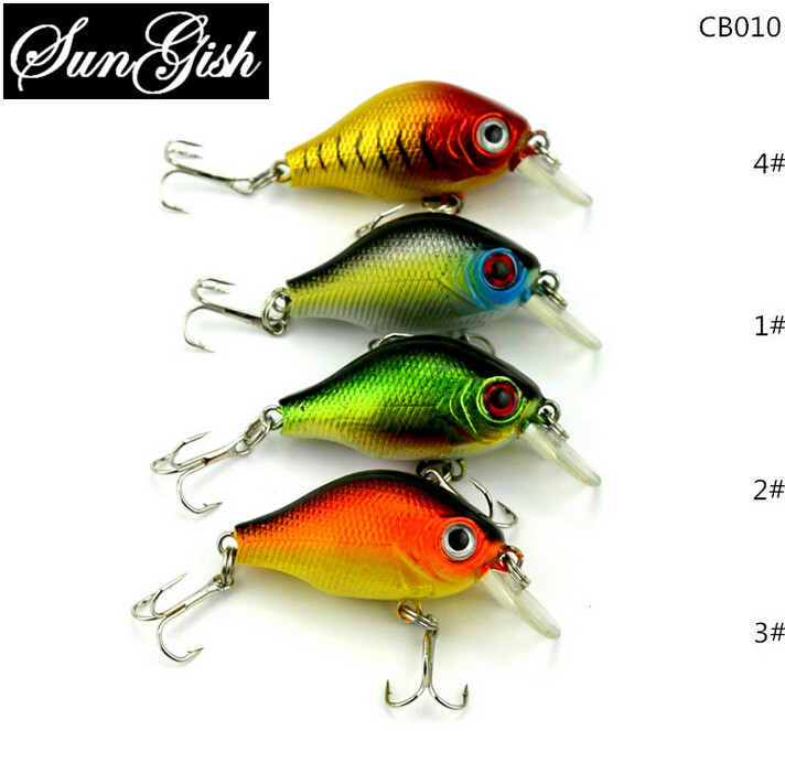 2016 New Fishing Lure Crankbait Hard Lures Wobblers Night Fishing Glow In Dark For Bass 55mm/8g Fishing Baits China FA0141