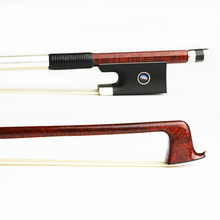 NEW 4/4 Size Hard Carbon Fiber Violin Bow Pernambuco Skin,Natural Mongolia Horsehair Ebony Frog Strong Violin Parts Accessories цена
