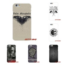 HanHent Valar Morghulis Game Of Thrones For Huawei P Smart y6 7 9 prime Mate P10 P20 Lite Pro Plus 2018 2019 Silicone Case Cover(China)